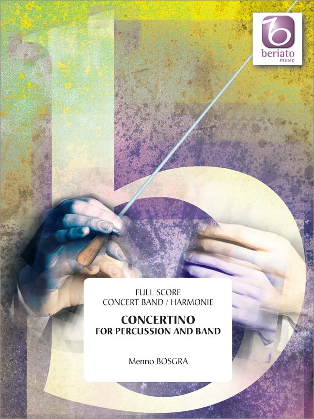 Menno Bosgra: Concertino for Percussion and Band: Concert Band: Score
