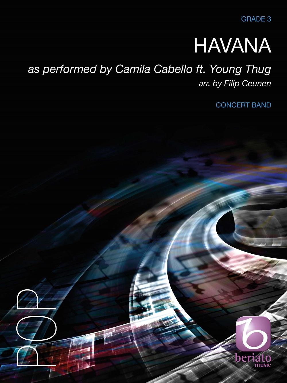 Camila Cabello Young Thug: Havana: Concert Band: Score & Parts