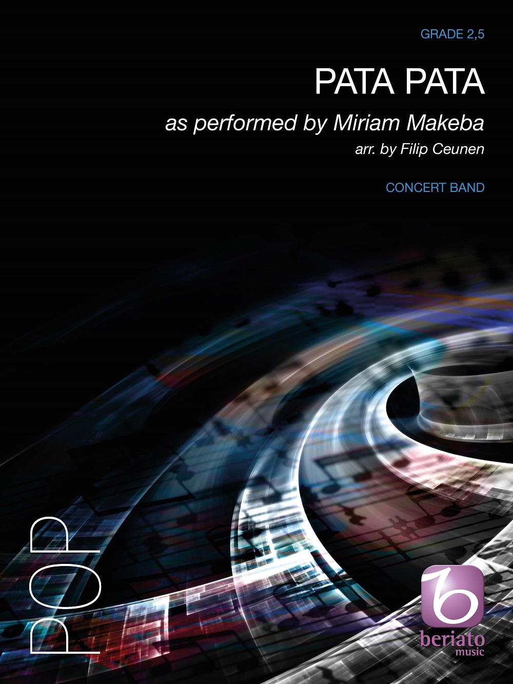 Miriam Makeba: Pata Pata: Concert Band: Score