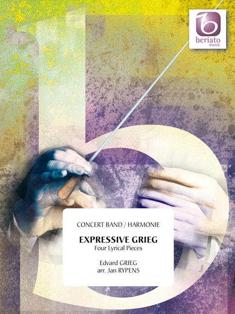Edvard Grieg: Expressive Grieg - Four Lyrical Pieces: Concert Band: Score &