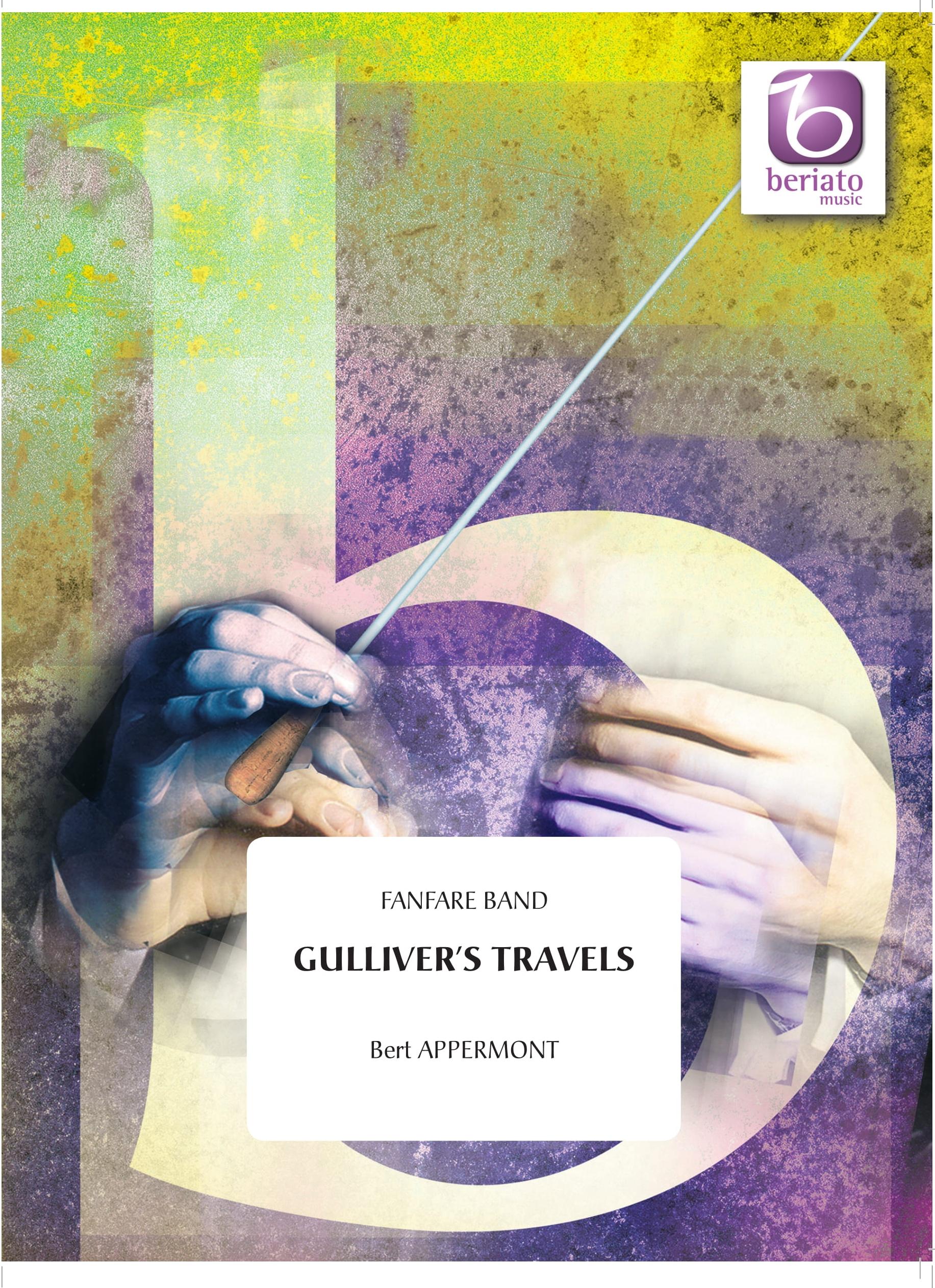 Bert Appermont: Gulliver's Travels: Fanfare Band: Score & Parts