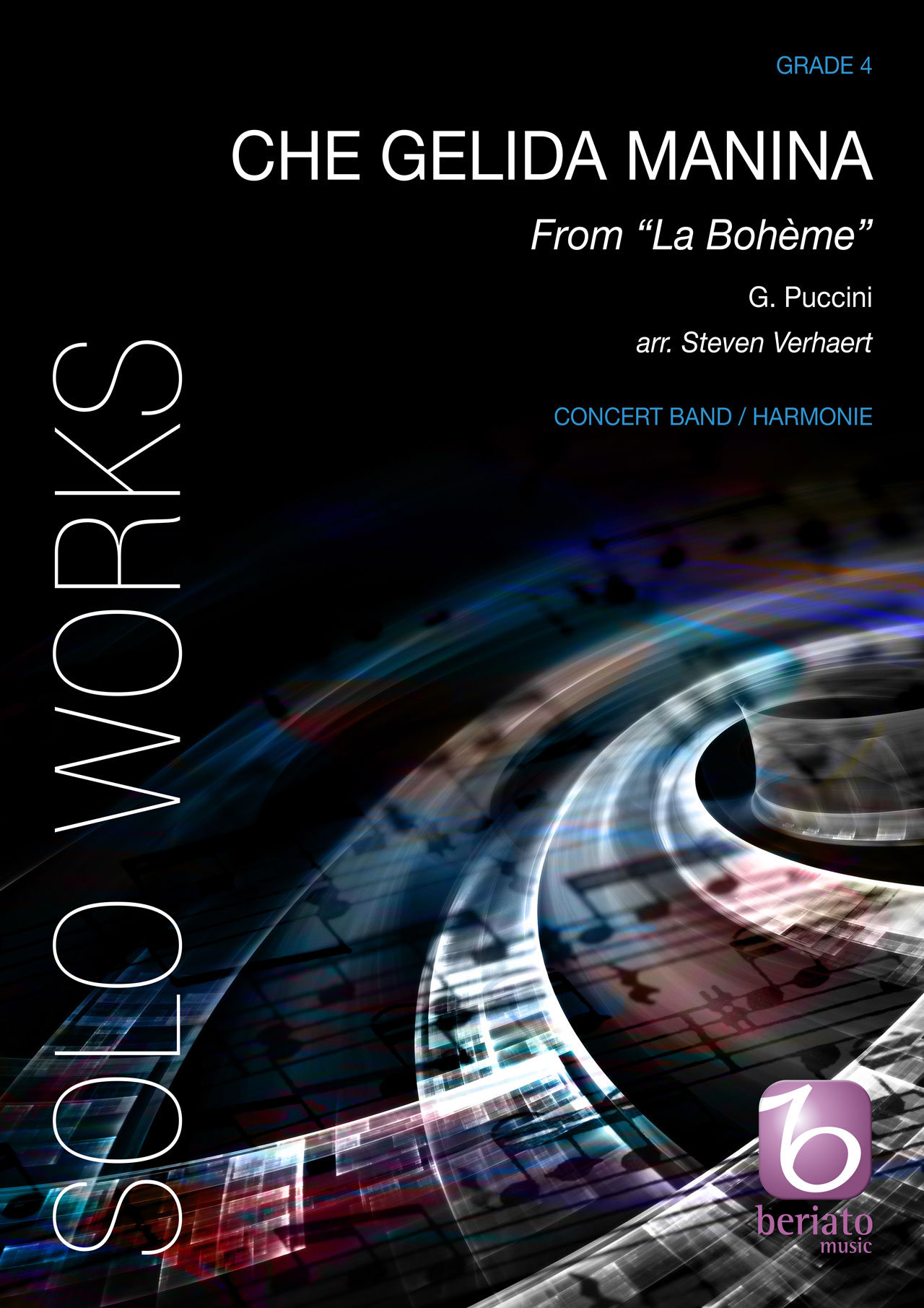 Giacomo Puccini: Che Gelida Manina (From La Bohème): Concert Band: Score