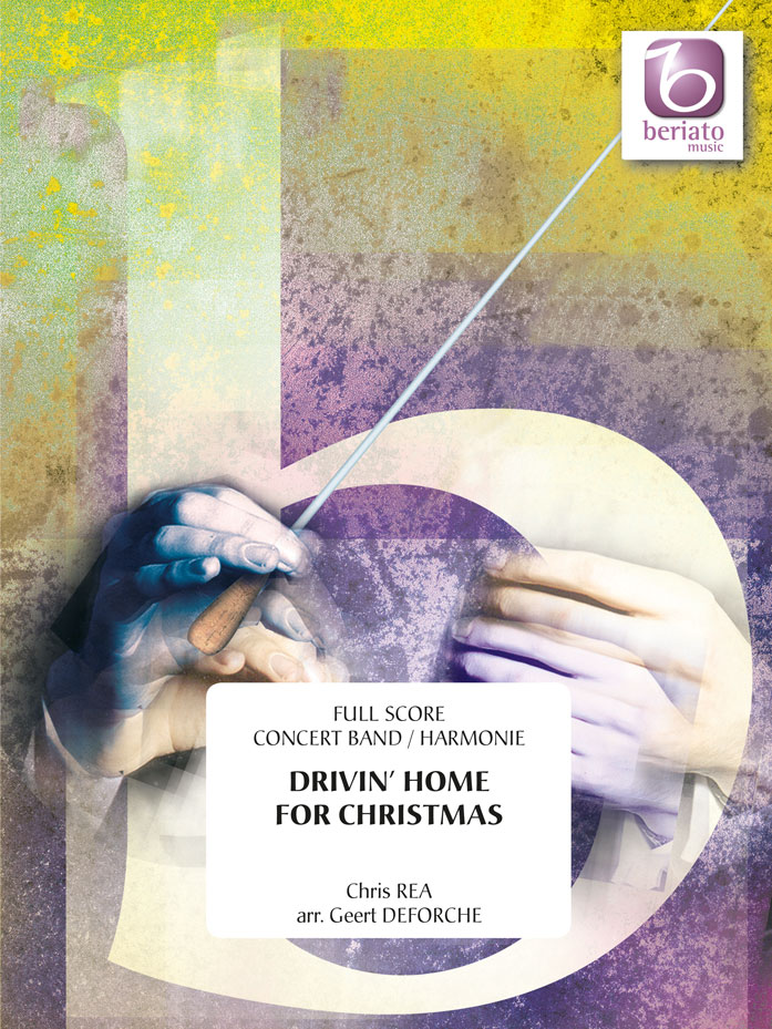 Chris Rea: Drivin' Home For Christmas: Concert Band: Score