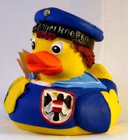 Wiener Saengerknaben Rubber Duck Blue Jacket: Novelty