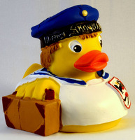 Wiener Saengerknaben Rubber Duck White Jacket: Novelty
