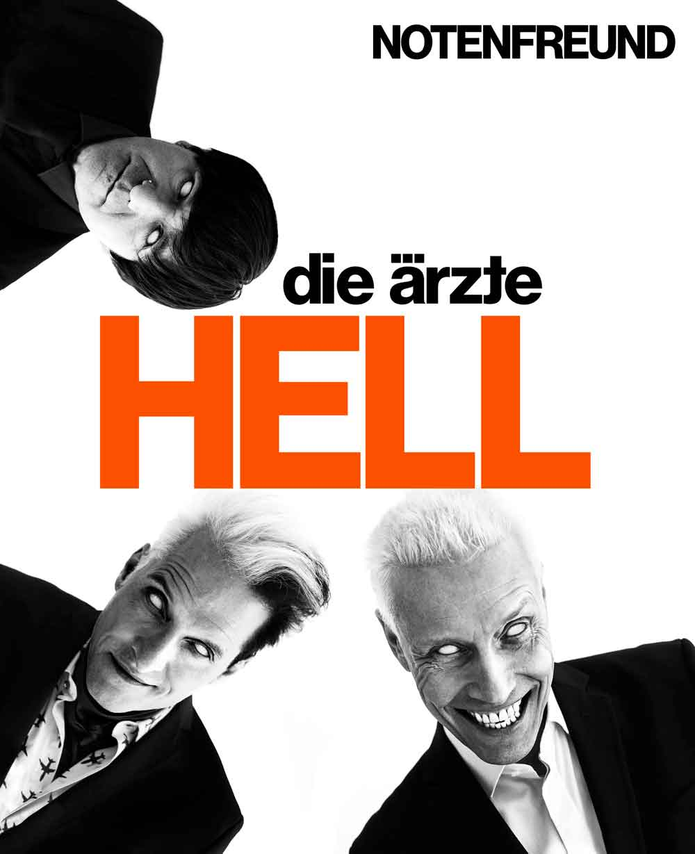 die ärzte: HELL für den Notenfreund: Melody  Lyrics & Chords: Mixed Songbook