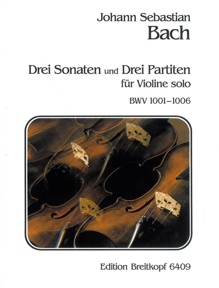 Johann Sebastian Bach: 3 Sonatas & 3 Partitas: Violin: Instrumental Work