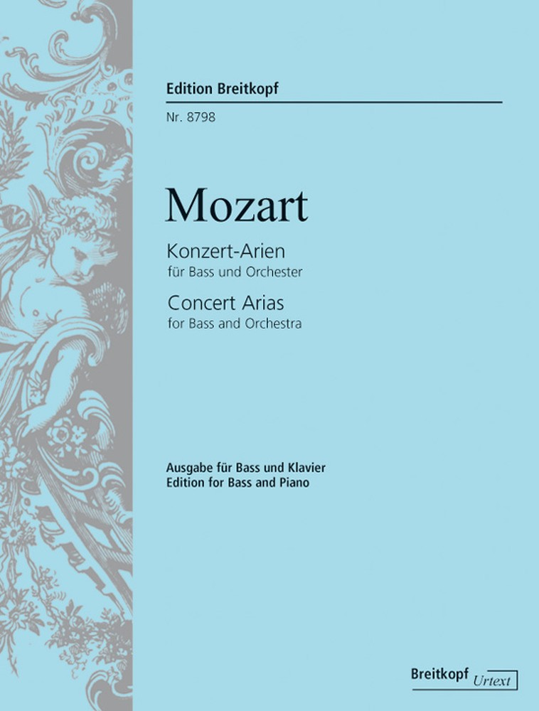 Wolfgang Amadeus Mozart: Complete Concert Arias for Bass: Bass: Vocal Album
