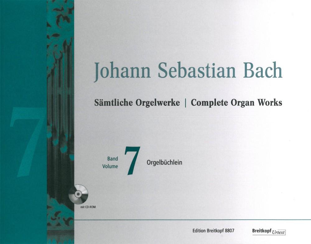 Johann Sebastian Bach: Complete Organ Works - Volume 7: Organ: Instrumental Work