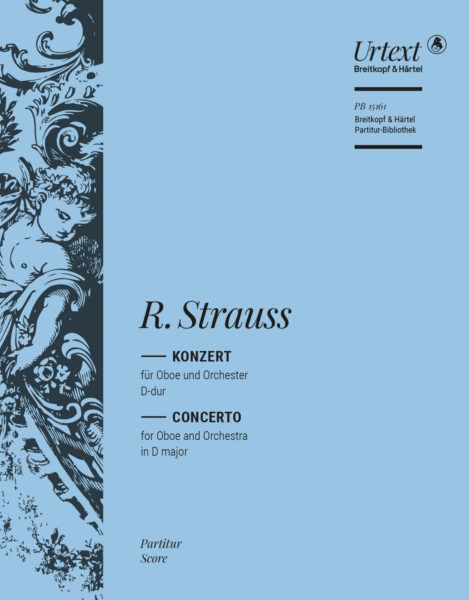Richard Strauss: Oboe Concerto In D Major TrV 292: Orchestra: Score