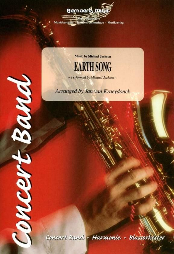 Michael Jackson: Earth Song: Concert Band: Score and Parts