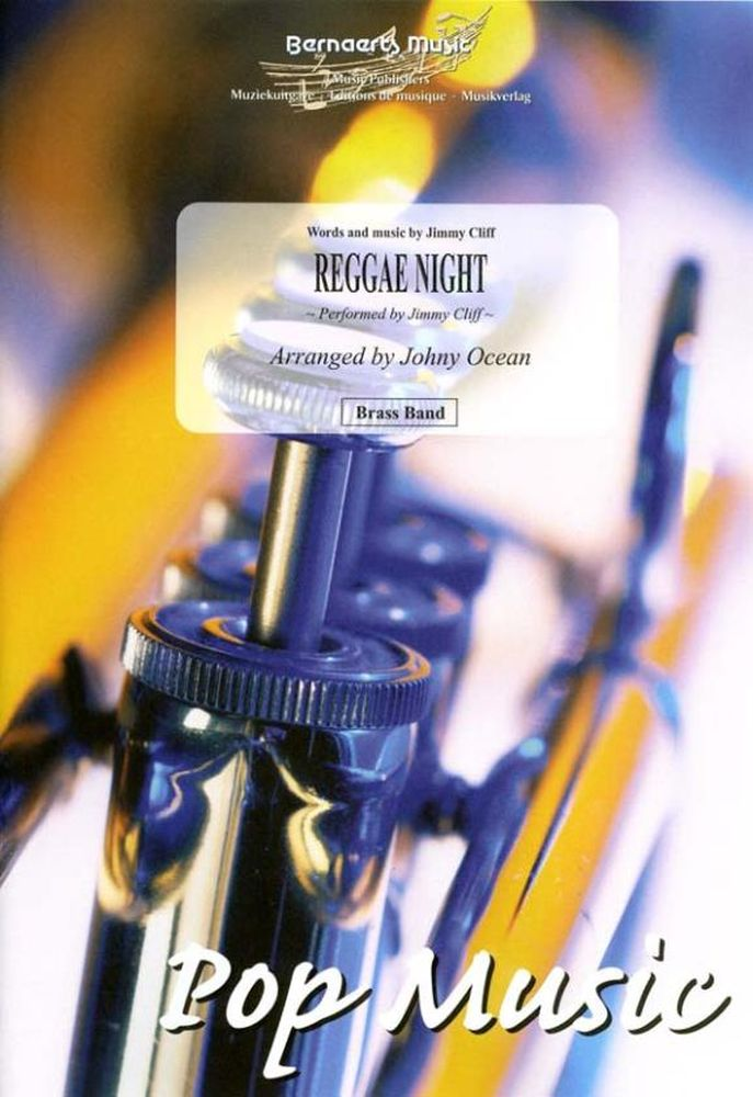Jimmy Cliff: Reggae Night: Brass Band: Score and Parts