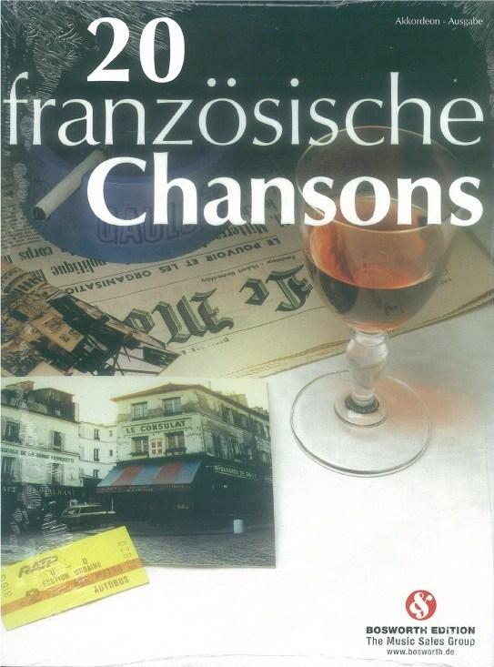 20 franzcsische Chansons fur Akkordeon: Accordion: Instrumental Album