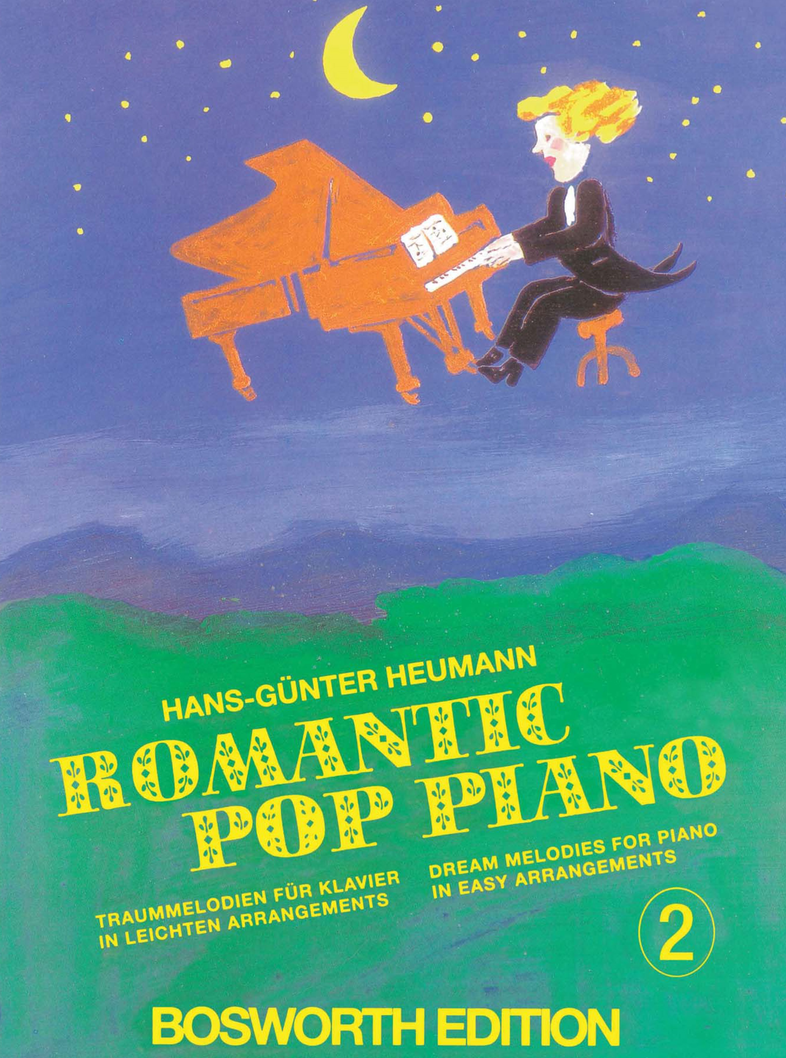 Hans-Günter Heumann: Romantic Pop Piano 2: Piano: Instrumental Album