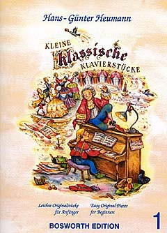 Hans-Günter Heumann: Kleine Klassische Klavierstucke: Piano: Instrumental Album