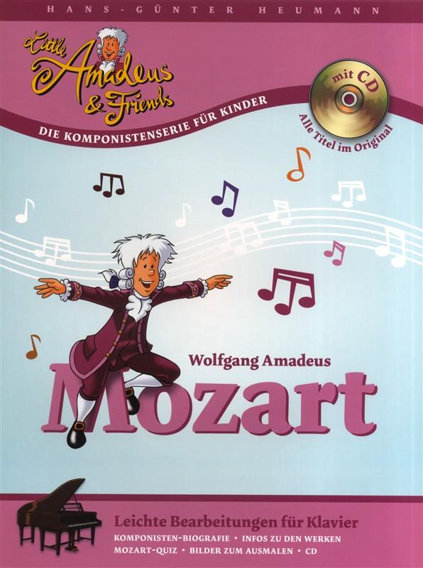 Wolfgang Amadeus Mozart: Little Amadeus & Friends - Wolfgang Amadeus Mozart: