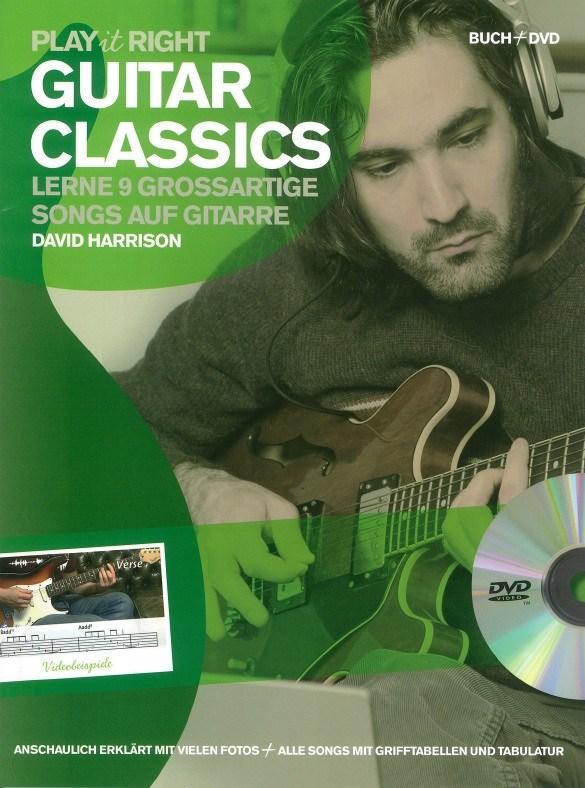 David Harrison: Play It Right : Guitar Classics: Guitar: Instrumental Tutor