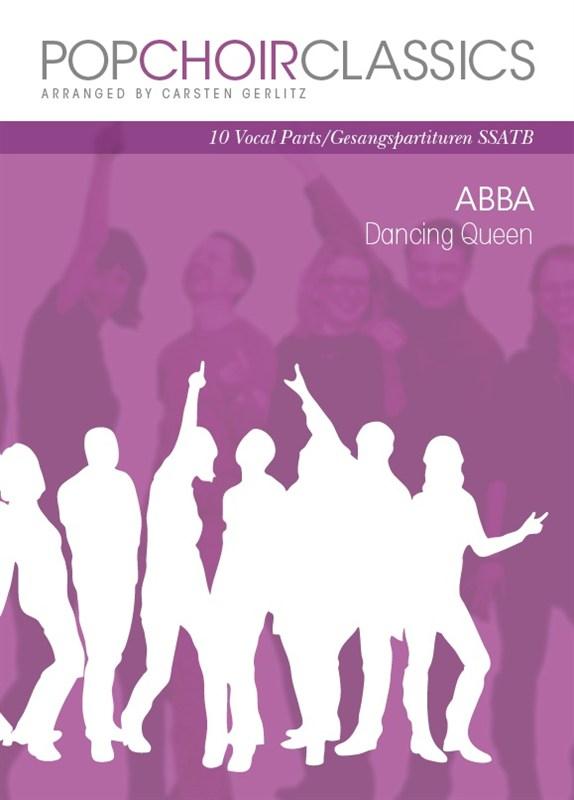ABBA: Pop Choir Classics: ABBA - Dancing Queen: SATB: Vocal Score