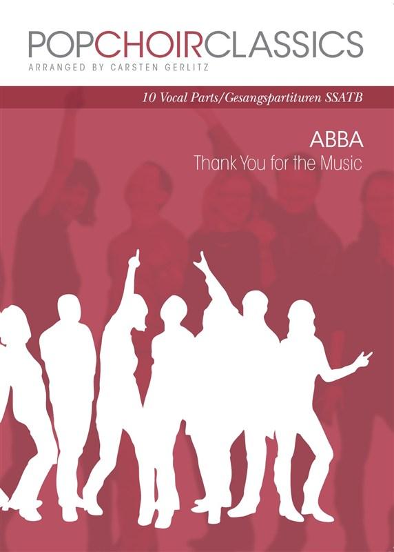 ABBA: Pop Choir Classics: ABBA - Thank You For The Music: SATB: Vocal Score