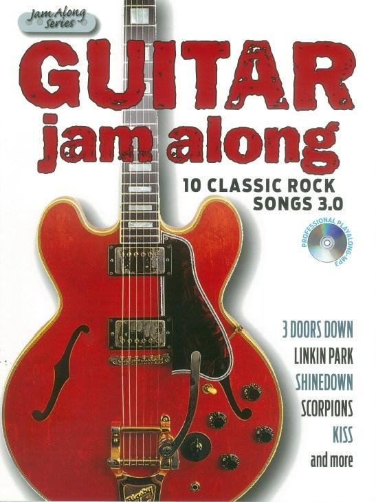 Guitar Jam Along - 10 Classic Rock Songs 3.0: Guitar TAB: Instrumental Album