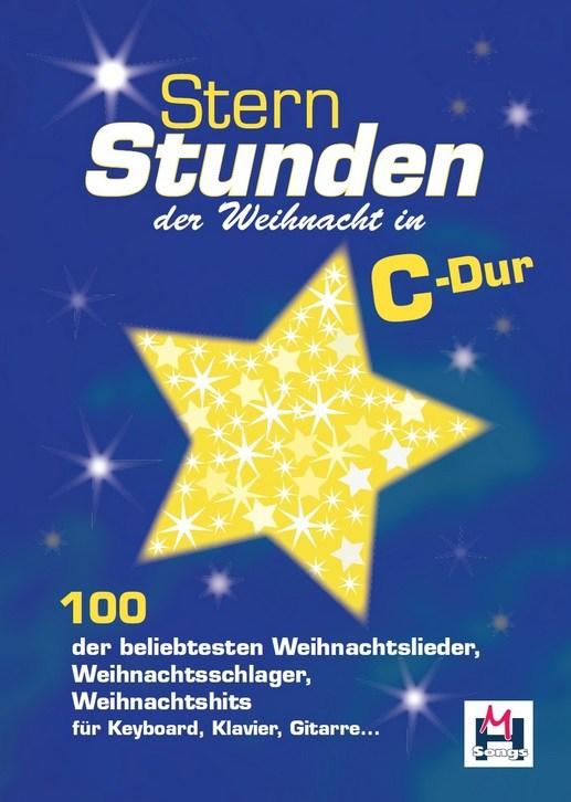 Sternstunden Der Weihnacht In C-Dur: Melody  Lyrics & Chords: Mixed Songbook