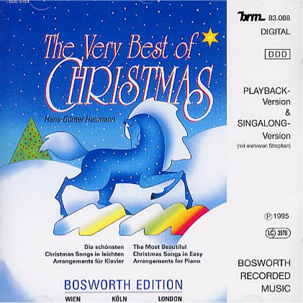 The Very Best Of Christmas (CD): Piano: Backing Tracks