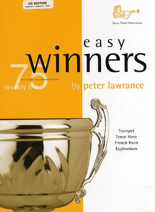 Peter Lawrance: Easy Winners for Treble Brass: French Horn: Instrumental Album