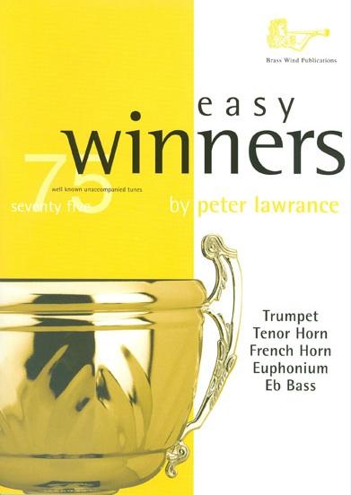 Peter Lawrance: Easy Winners for Treble Brass: Trumpet: Instrumental Album