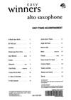 Peter Lawrance: Easy Winners Piano Accompaniment for Alto Sax: Piano