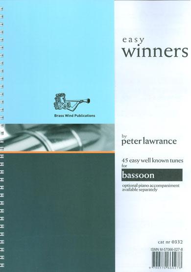 Peter Lawrance: Easy Winners (Bassoon): Bassoon: Instrumental Work