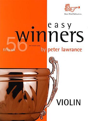 Peter Lawrance: Easy Winners for Violin: Violin: Instrumental Album