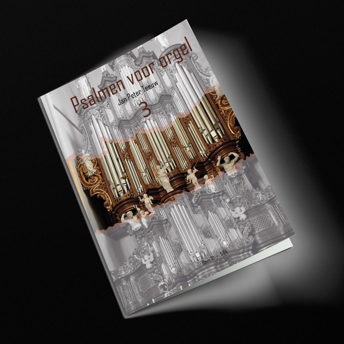 Jan Peter Teeuw: Psalmen Voor Orgel 3: Organ: Instrumental Album