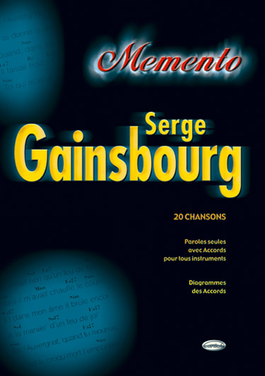 Serge Gainsbourg: Memento: Vocal: Artist Songbook