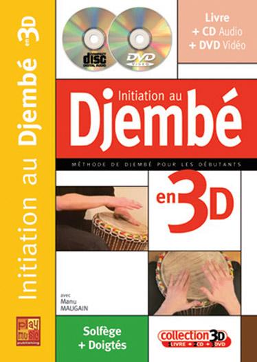 Manu Maugain: Initiation Djembe 3D: Djembe: Instrumental Tutor