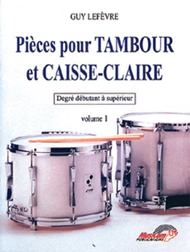 Guy Lefèvre: Pièces pour Tambour et Caisse-Claire: Drum Kit: Instrumental Work