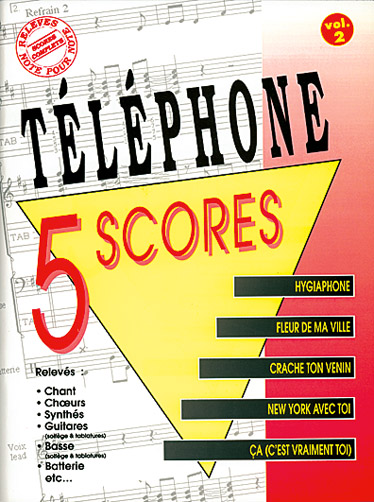 Téléphone: Téléphone: 5 Scores - Volume 2: Artist Songbook