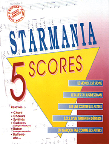 Luc Plamondon Michel Berger: Starmania: 5 Scores: Piano  Vocal  Guitar: Mixed