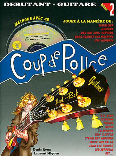 Denis Roux: Coup De Pouce Guitare Rock Vol 2: Guitar: Instrumental Tutor