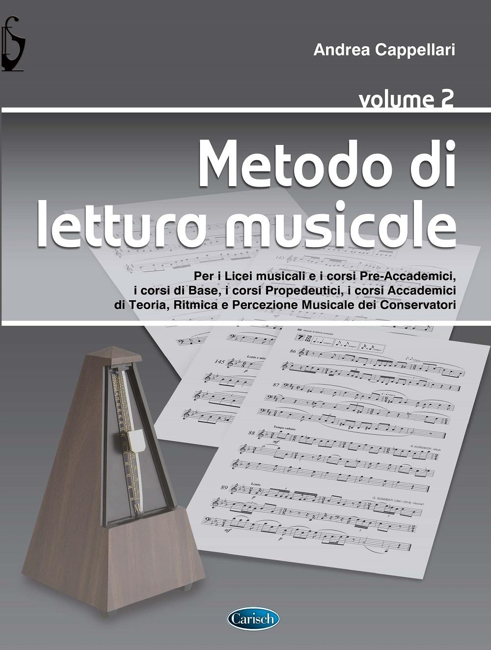 Metodo di lettura musicale vol. 2: Method