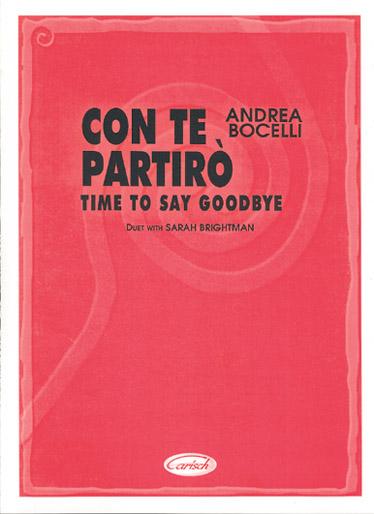 Andrea Bocelli: Con Te Partirò (Time To Say Goodbye): Voice: Single Sheet