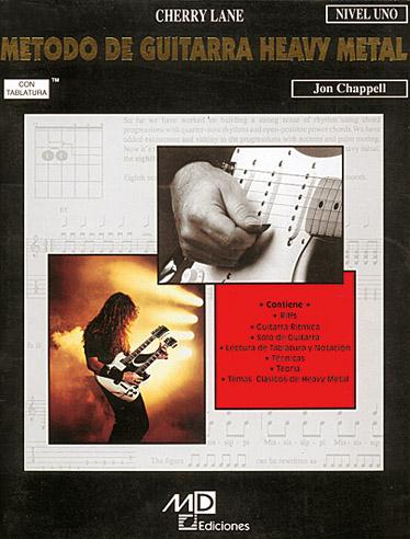 Jon Chappell: Metodo Guitarra Heavy Metal Lev1: Guitar TAB: Instrumental Tutor