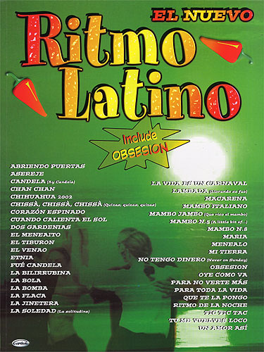 Ritmo Latino (Inclusief: Piano  Vocal  Guitar: Mixed Songbook