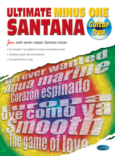 Santana: Ultimate Minus One: Guitar TAB: Artist Songbook