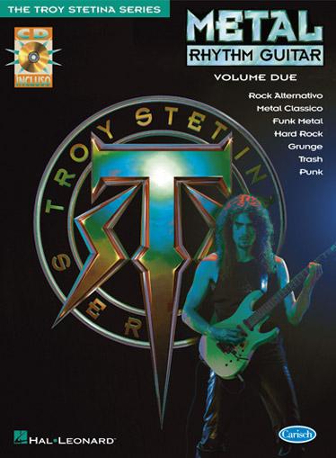 Troy Stetina: Metal Rhythm Guitar Vol. 2 ( Italian ): Guitar: Instrumental Tutor