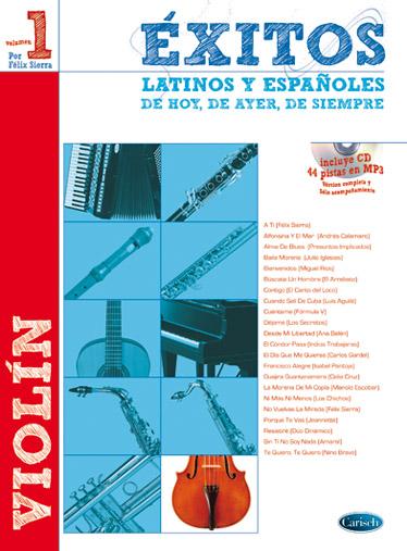 Félix Sierra: Exitos Latinos Y Espanolos: Violin: Instrumental Album