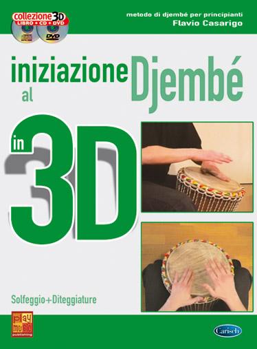 Iniziazione Al Djembe in 3D +CD+DVD