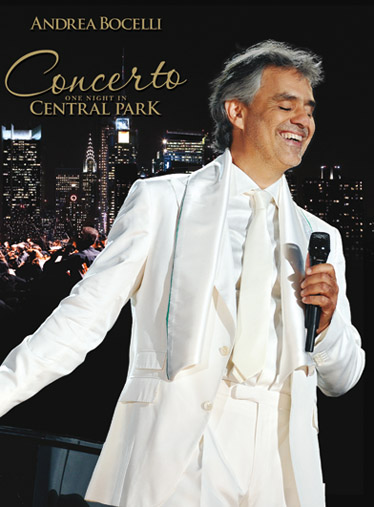 Andrea Bocelli: One Night In Central Park: Piano  Vocal  Guitar: Artist Songbook