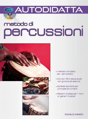 Danilo Mineo: Autodidatta: Metodo di Percussioni: Percussion: Instrumental Tutor