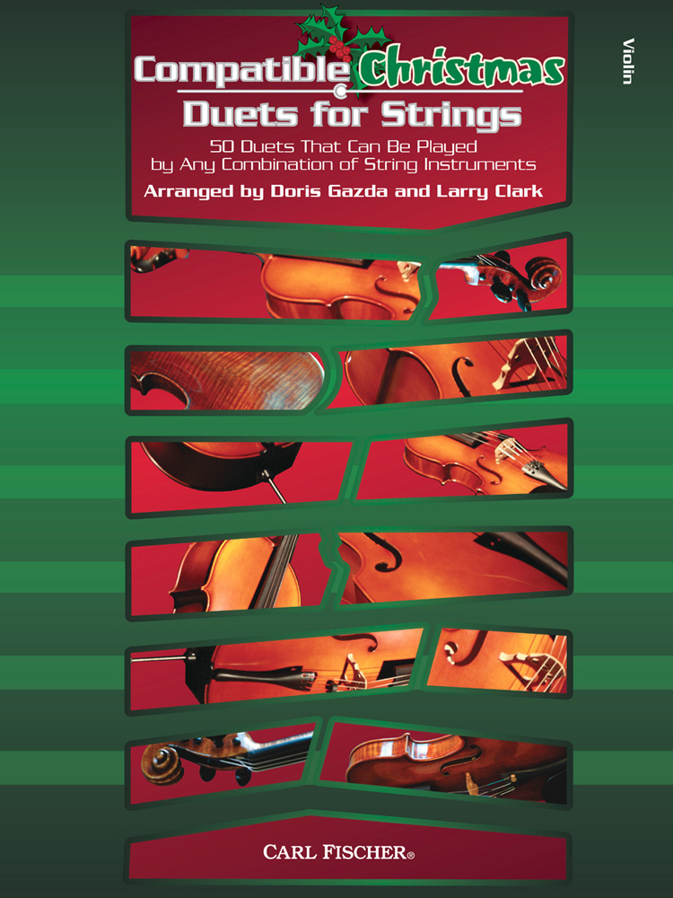 Compatible Christmas Duets for Strings: Violin: Mixed Songbook