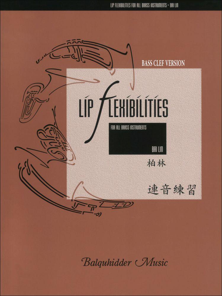 Bai Lin: Bass Clef Lip Flexibilities: Brass Instrument: Score and Part